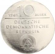 10 Mark (Georg Wilhelm Friedrich Hegel) – obverse