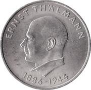 20 Mark (85th Birthday of Ernst Thälmann) – reverse