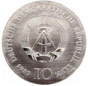10 Mark (Johann Gottfried Schadow) – obverse