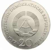 20 Mark (Carl Friedrich Gauss) – obverse
