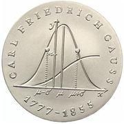 20 Mark (Carl Friedrich Gauss) – reverse