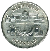 5 Mark (New Palace of Potsdam) – reverse