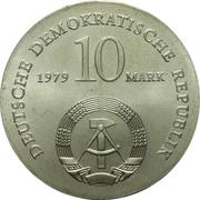 10 Mark (Ludwig Feuerbach) – obverse