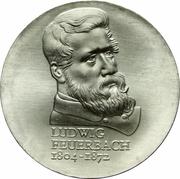 10 Mark (Ludwig Feuerbach) – reverse