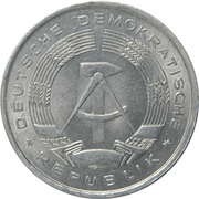 1 Deutsche Mark -  obverse