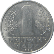 1 Deutsche Mark -  reverse