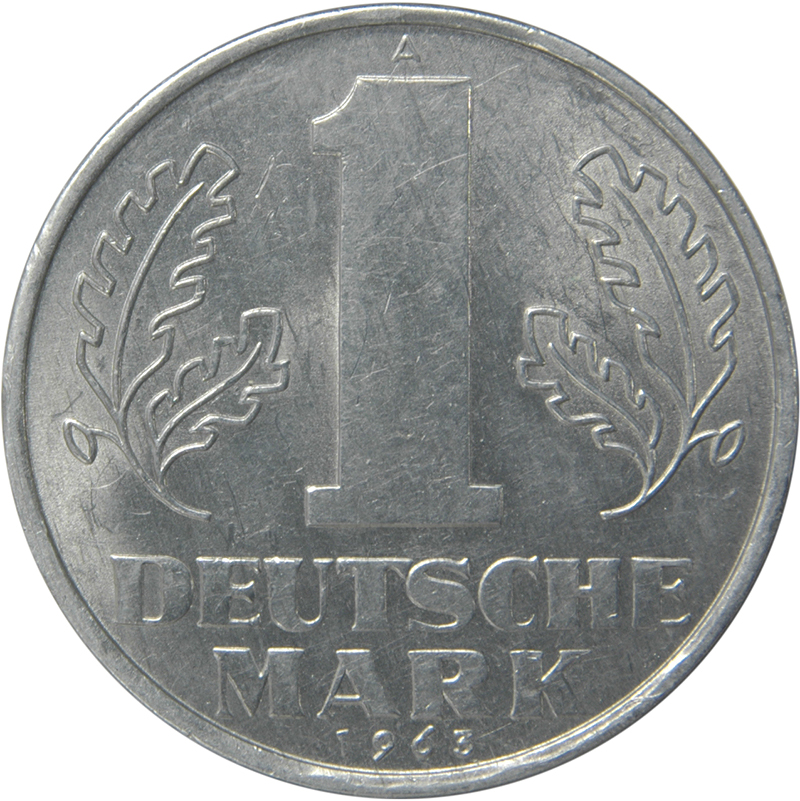 1 deutsche mark 1956