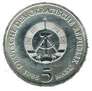 5 Mark (New Palace of Potsdam) – obverse