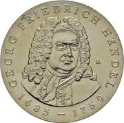 20 Mark (Georg Friedrich Händel) – reverse