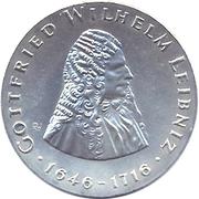 20 Mark (Gottfried Wilhelm Leibniz) – reverse