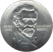 20 Mark (August Bebel) – reverse