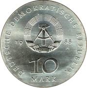 10 Mark (Ulrich von Hutten) – obverse