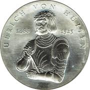 10 Mark (Ulrich von Hutten) – reverse