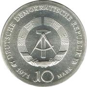 10 Mark (Albrecht Dürer) – obverse