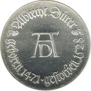 10 Mark (Albrecht Dürer) – reverse