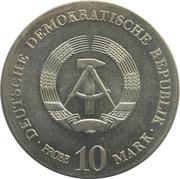 10 Mark (Otto von Guericke - Probe) – obverse
