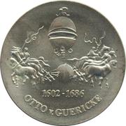 10 Mark (Otto von Guericke - Probe) – reverse