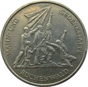 10 Mark (Buchenwald Memorial) -  reverse