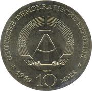 10 Mark (Johann Friedrich Böttger) – obverse