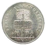 5 Mark (750 years Berlin - Alexanderplatz) – reverse