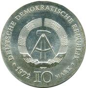 10 Mark (Heinrich Heine) – obverse