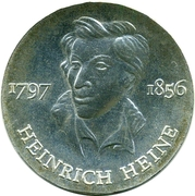 10 Mark (Heinrich Heine) – reverse
