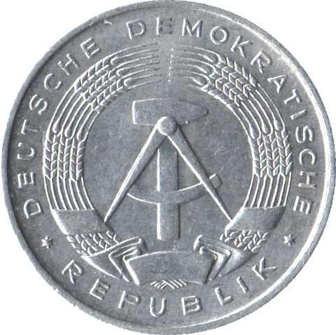 1 Pfennig - German Democratic Republic – Numista