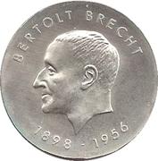 10 Mark (Bertolt Brecht) – reverse