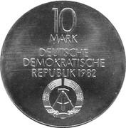 10 Mark (Neues Gewandhaus Leipzig) – obverse