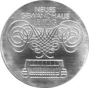 10 Mark (Neues Gewandhaus Leipzig) – reverse