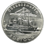 5 Mark (City of Rostock) – reverse