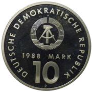 10 Mark (East German Sports; Probe) – obverse