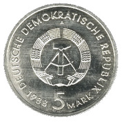 5 Mark (City of Rostock) – obverse