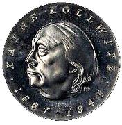 1 Mark (Käthe Kollwitz, Probe) – obverse