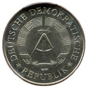 5 Mark (20 Years of GDR - Copper-Nickel) – obverse