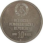 10 Mark (Kampfgruppen) – obverse