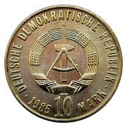 10 Mark (Liberation from Fascism) – obverse