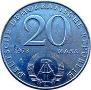 20 Mark (Otto Grotewohl) – obverse