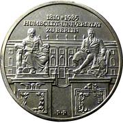 10 Mark (Humboldt Universität) – reverse