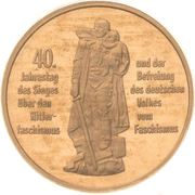 10 Mark (Liberation from Fascism) -  obverse