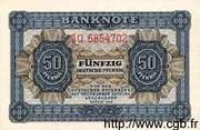 50 Deutsche Pfennige – obverse