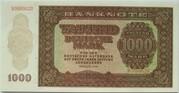 1000 Deutsche Mark – obverse