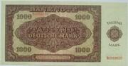 1000 Deutsche Mark – reverse