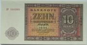 10 Deutsche Mark – obverse