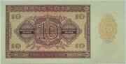 10 Deutsche Mark – reverse