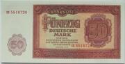 50 Deutsche Mark – obverse