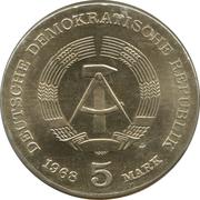5 Mark (Robert Koch) – obverse