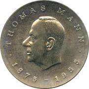5 Mark (Thomas Mann) – reverse