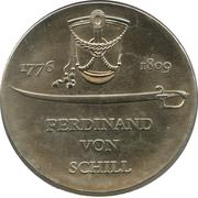 5 Mark (Ferdinand von Schill) – reverse