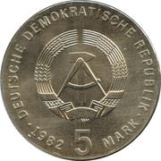 5 Mark (Friedrich Froebel) – obverse